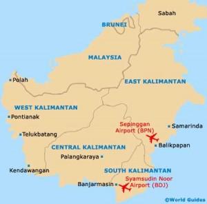 kalimantan 300x296 Bandara di Kalimantan